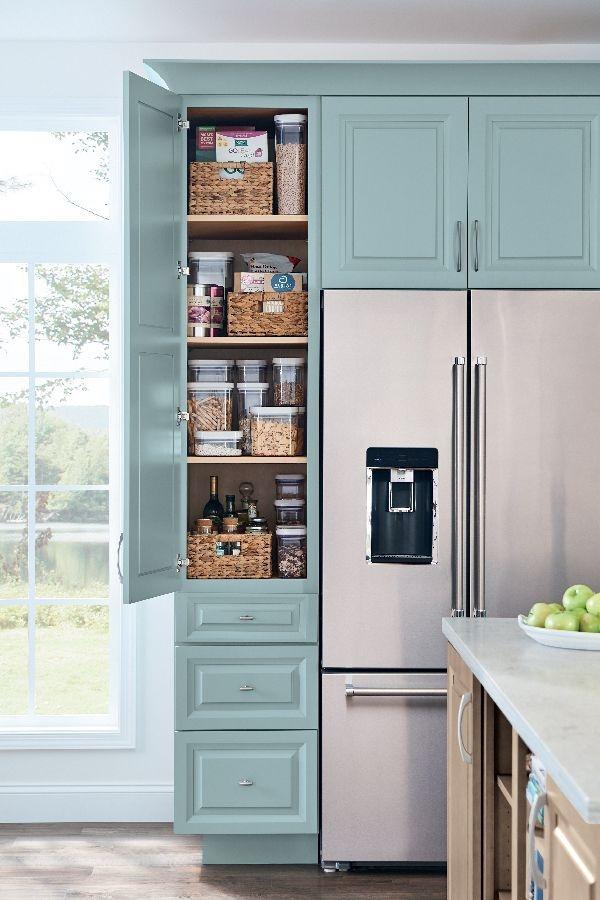 Catchy Kitchen Pantry Design Ideas38