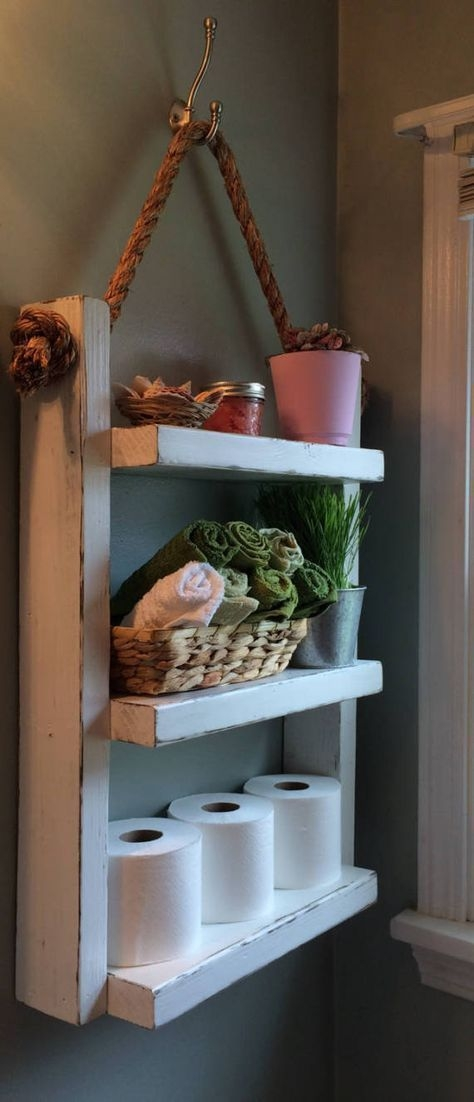 Enchanting Bathroom Storage Ideas For Your Organization34