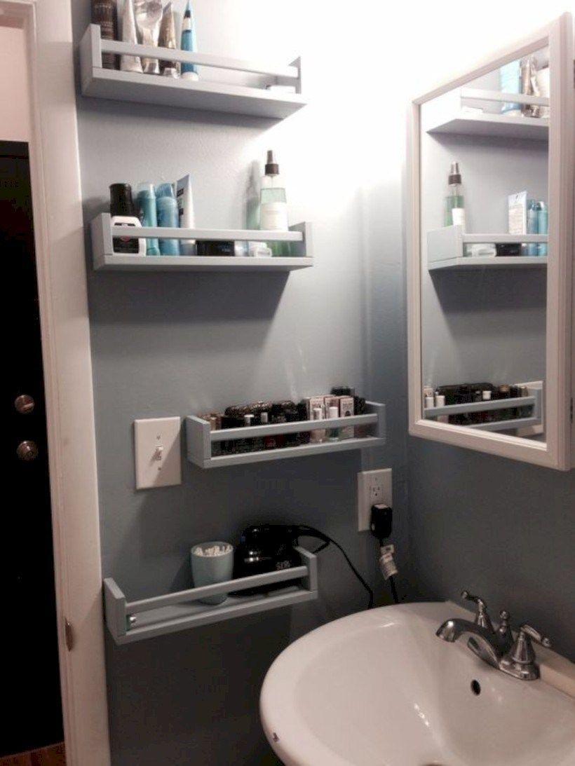 Enchanting Bathroom Storage Ideas For Your Organization38