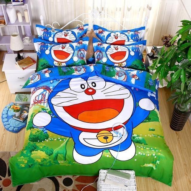 Impressive Kids Bedroom Ideas With Doraemon Themes39