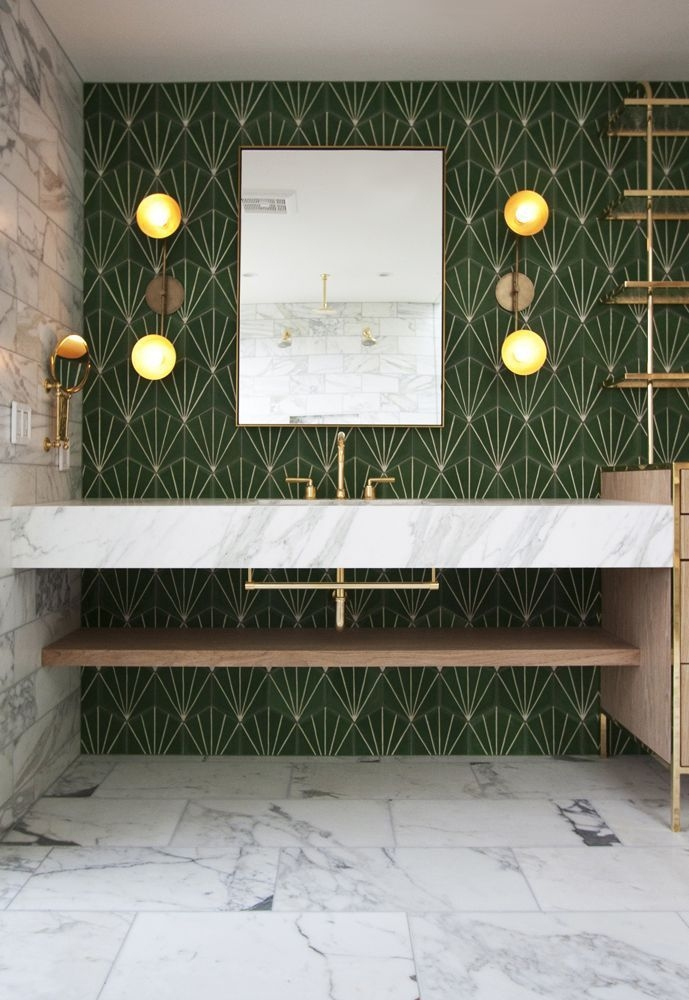 Relaxing Bathroom Design Ideas With Go Green Concept42