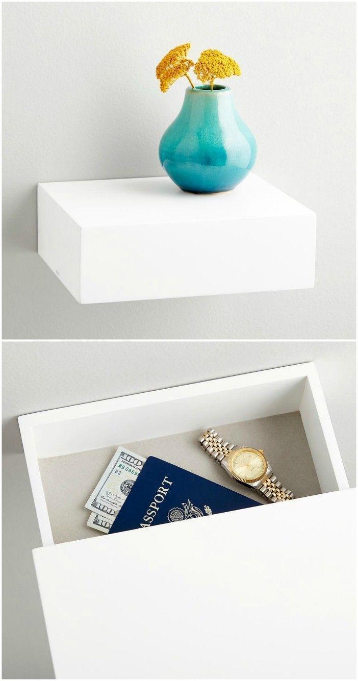 Rustic Minimalist Storage Ideas For Living Rooms23
