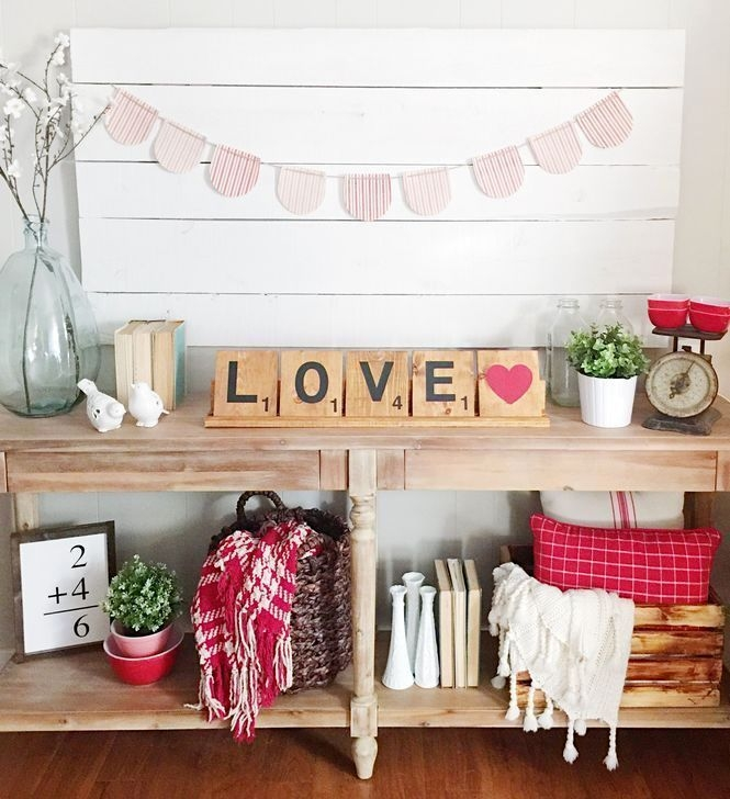 Beautiful Home Interior Design Ideas With The Concept Of Valentines Day04