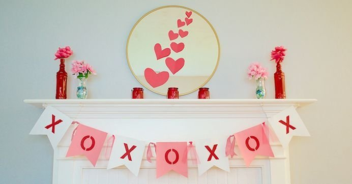 Beautiful Home Interior Design Ideas With The Concept Of Valentines Day30