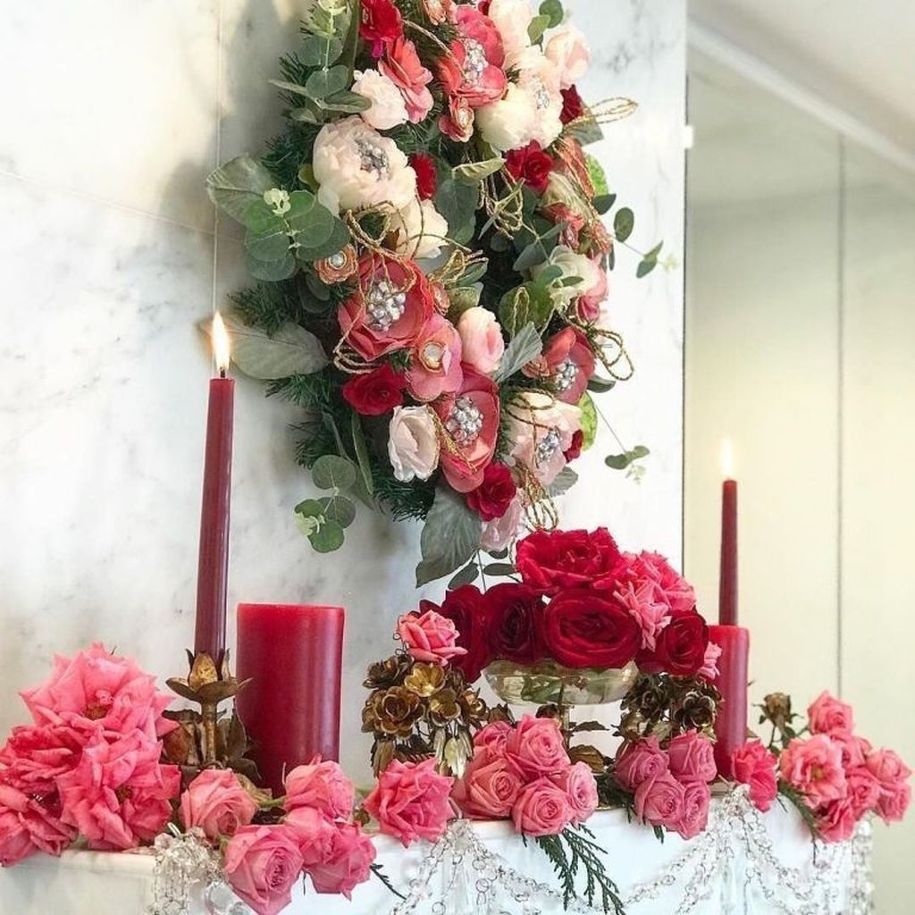 Beautiful Home Interior Design Ideas With The Concept Of Valentines Day37