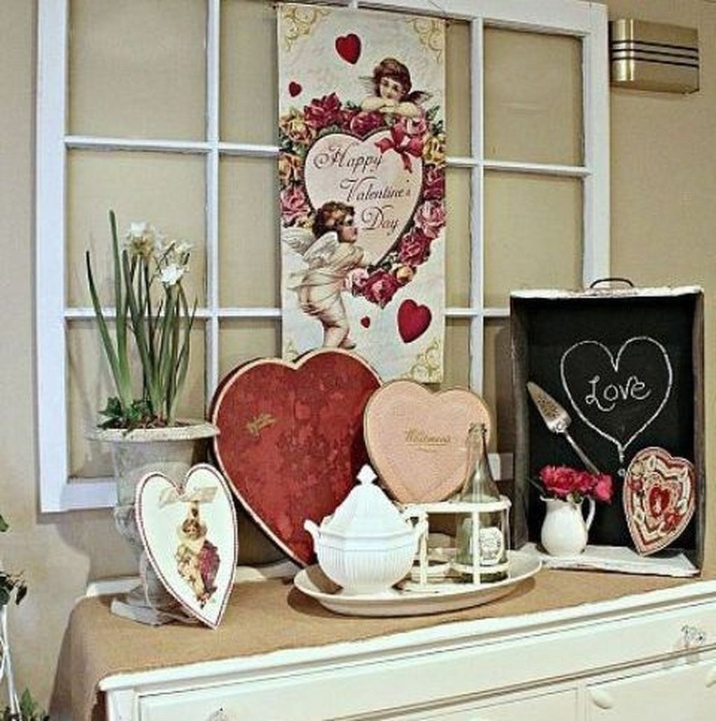 Beautiful Home Interior Design Ideas With The Concept Of Valentines Day38
