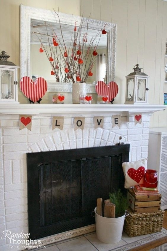 Beautiful Home Interior Design Ideas With The Concept Of Valentines Day43