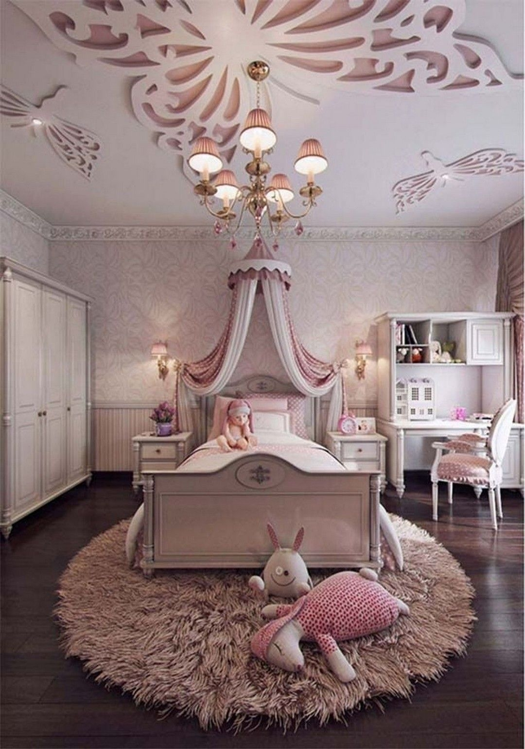 Charming Bedroom Designs Ideas That Will Inspire Your Kids41