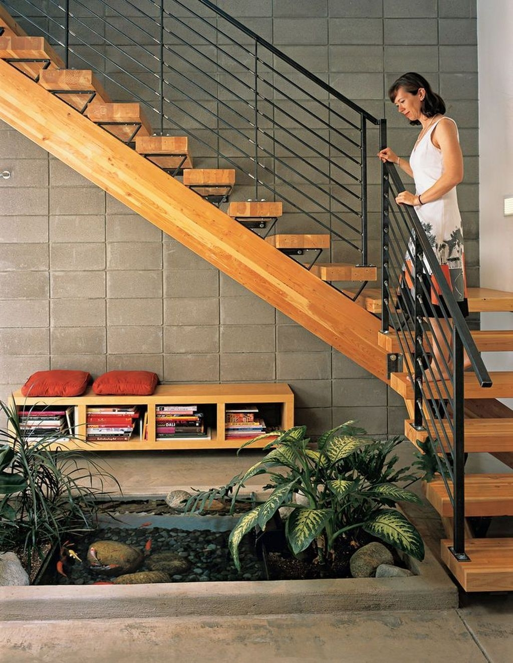 Classy Indoor Home Stairs Design Ideas For Home46