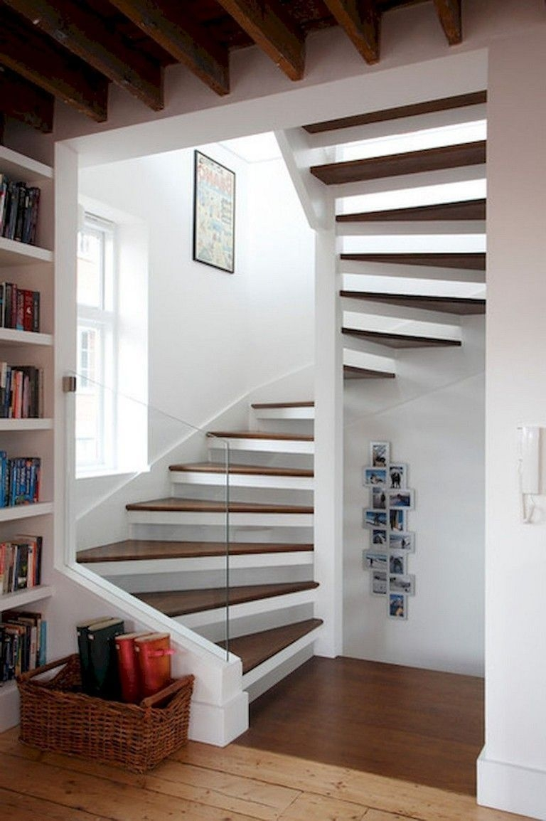 Classy Indoor Home Stairs Design Ideas For Home47