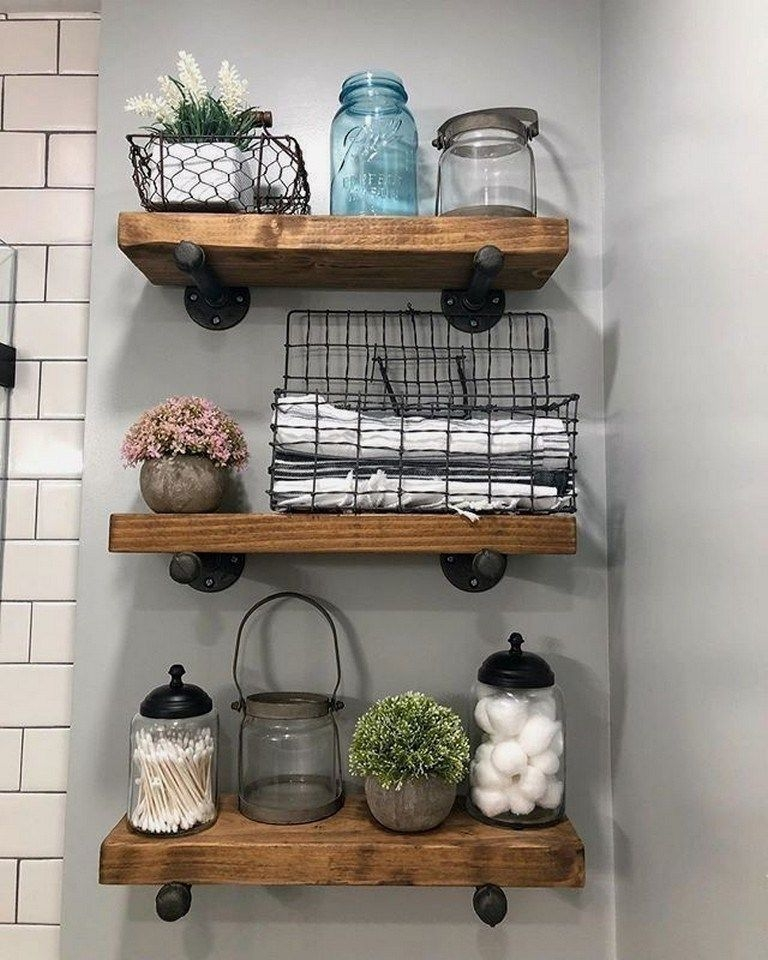 Cute Small Bathroom Decor Ideas On A Budget To Try08