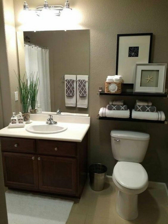 cute small bathroom decor ideas on a budget to try16  zyhomy