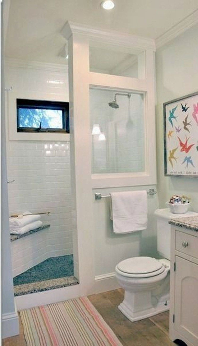 Cute Small Bathroom Decor Ideas On A Budget To Try23