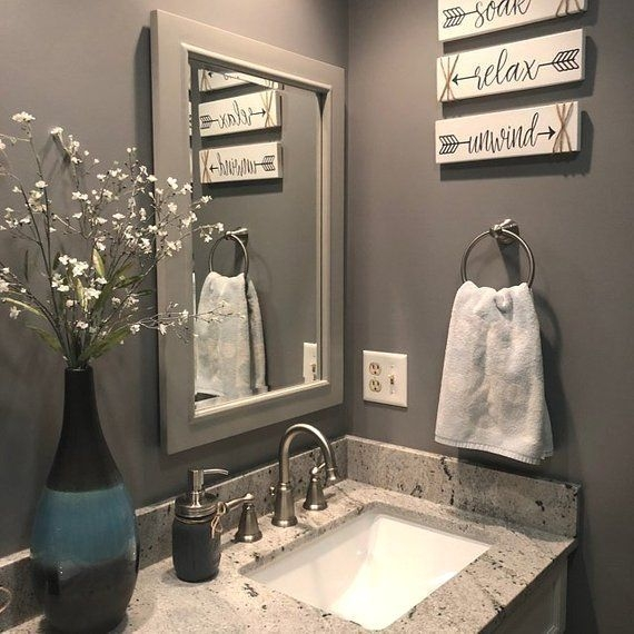 Cute Small Bathroom Decor Ideas On A Budget To Try30
