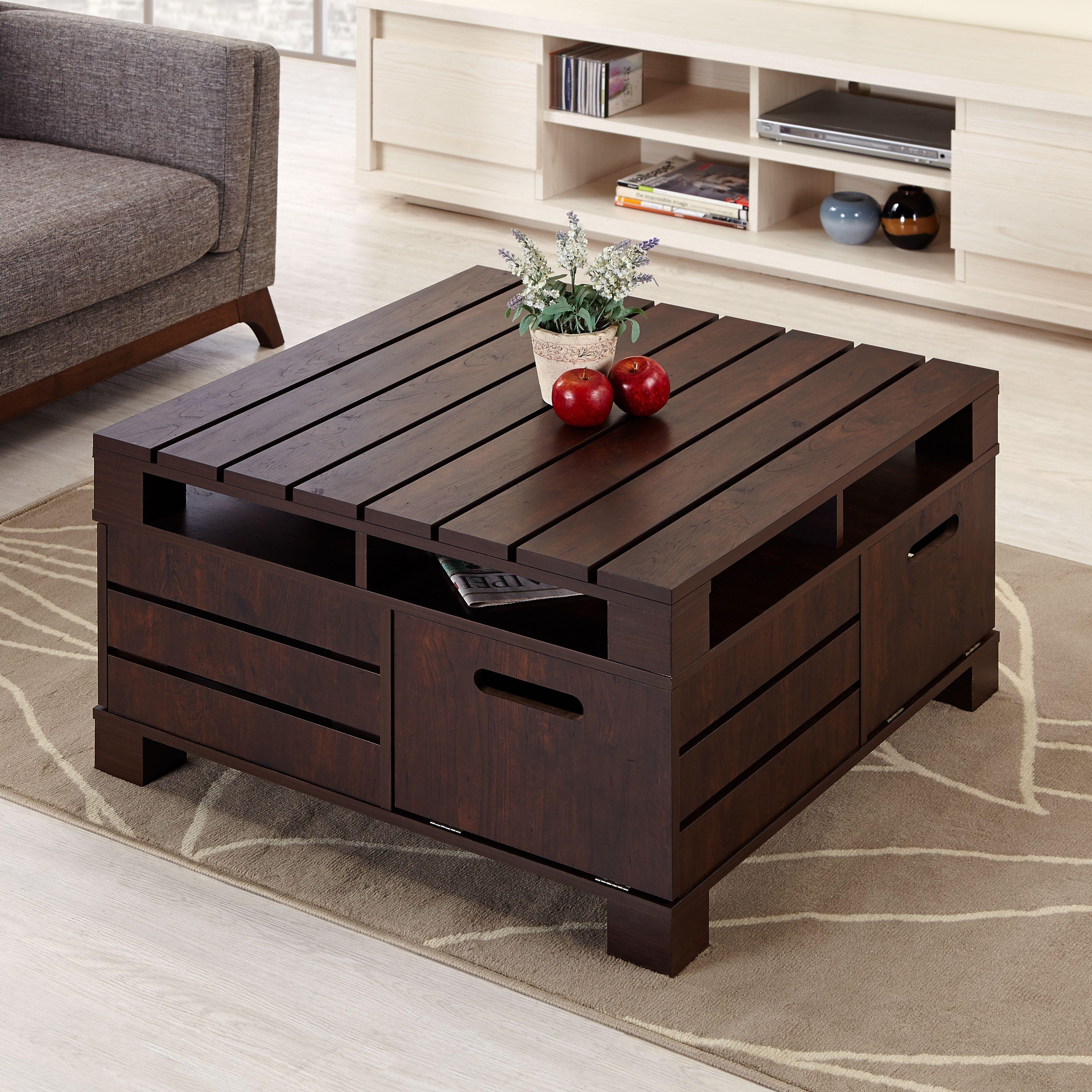 Fantastic Diy Projects Mini Pallet Coffee Table Design Ideas02