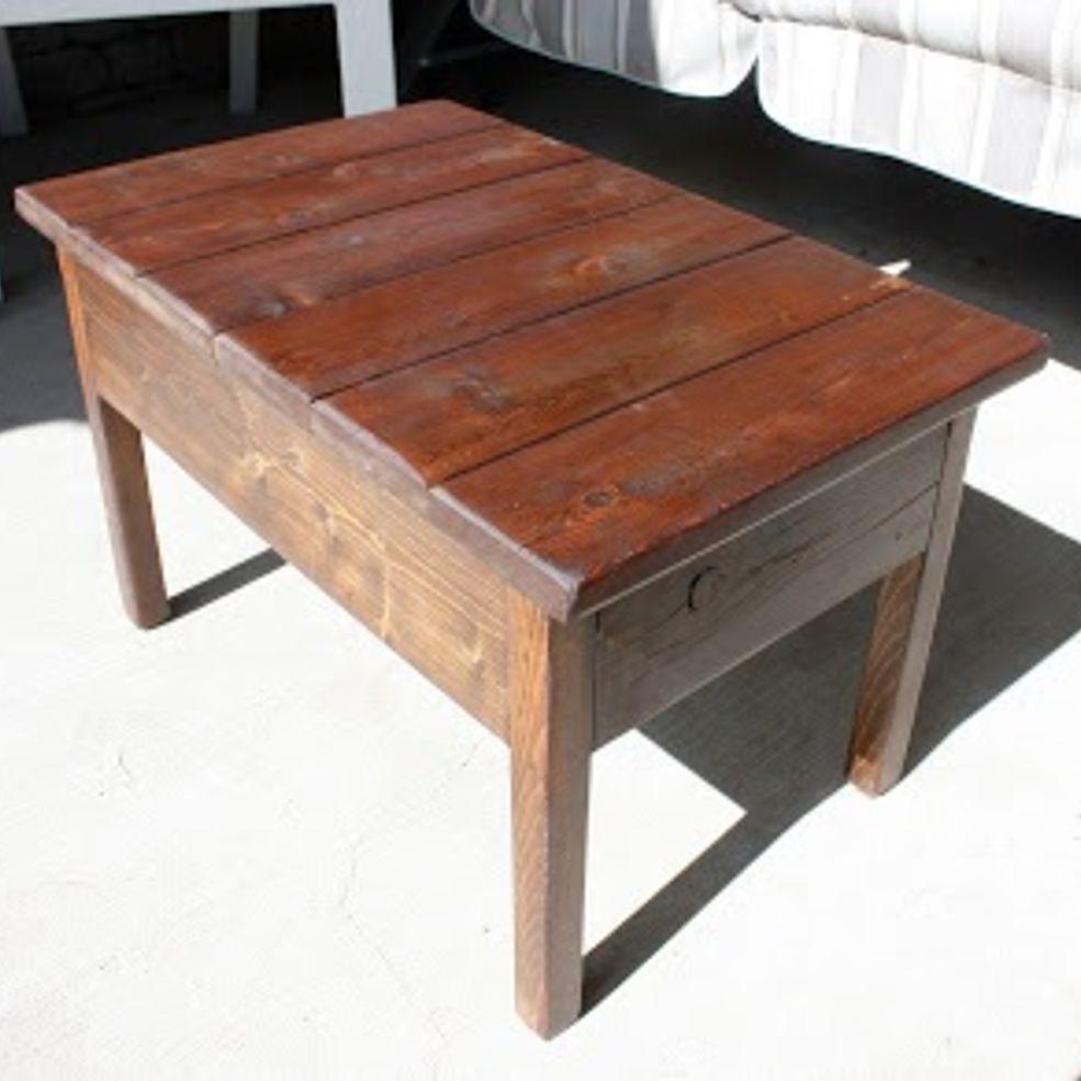 Fantastic Diy Projects Mini Pallet Coffee Table Design Ideas07
