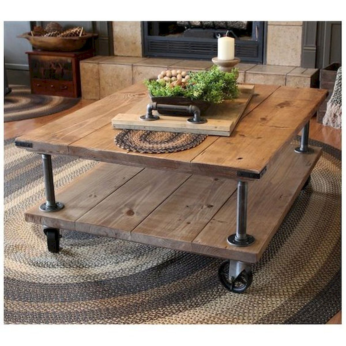 Fantastic Diy Projects Mini Pallet Coffee Table Design Ideas11