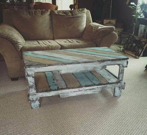 Fantastic Diy Projects Mini Pallet Coffee Table Design Ideas29