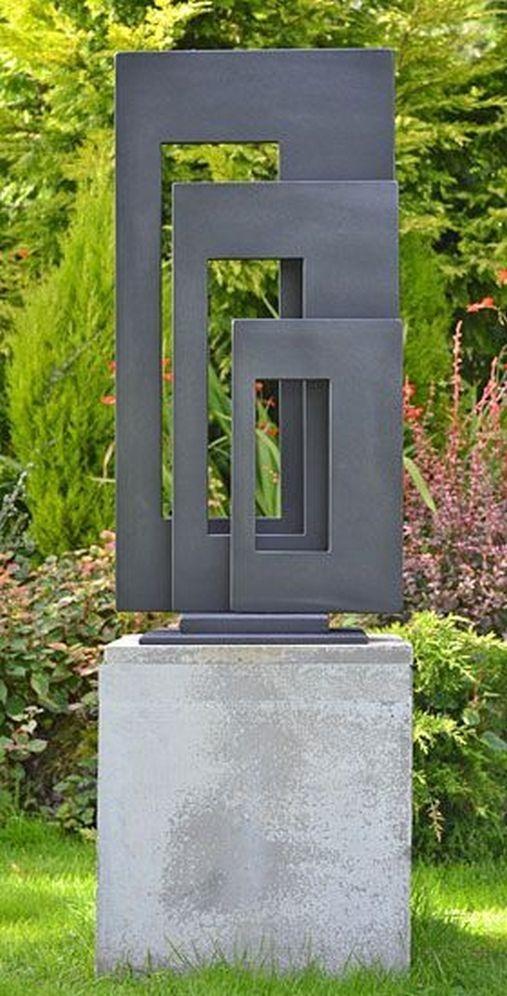 Inspiring Outdoor Metal Design Ideas For Garden Art You Must Try01