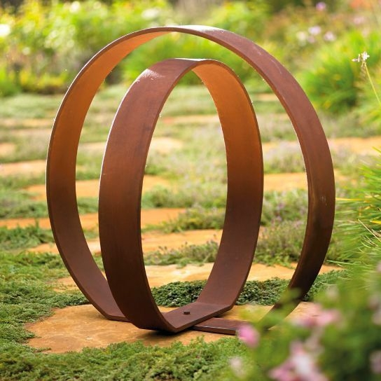 Inspiring Outdoor Metal Design Ideas For Garden Art You Must Try05