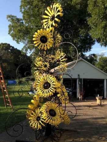 Inspiring Outdoor Metal Design Ideas For Garden Art You Must Try11
