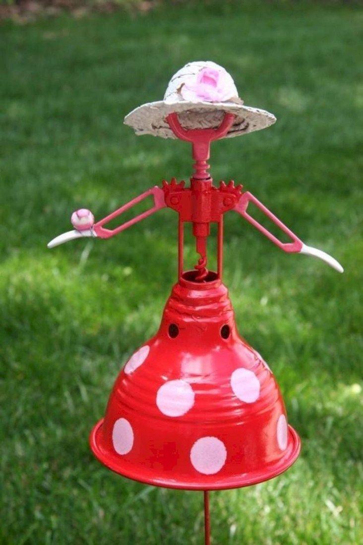 Inspiring Outdoor Metal Design Ideas For Garden Art You Must Try15