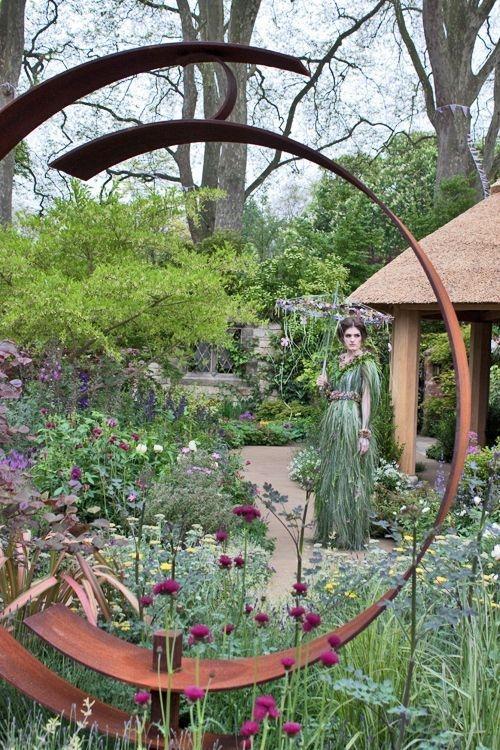 Inspiring Outdoor Metal Design Ideas For Garden Art You Must Try19