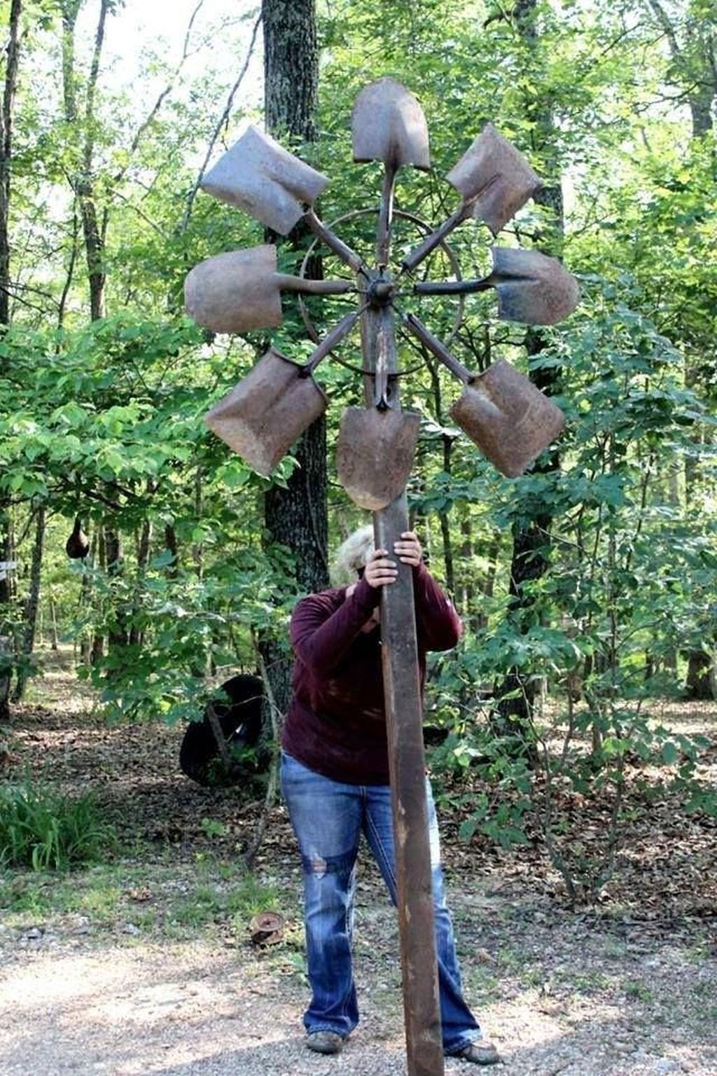 Inspiring Outdoor Metal Design Ideas For Garden Art You Must Try39