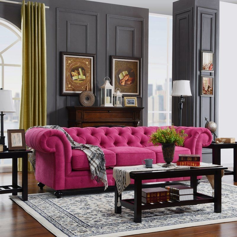 Modern Living Room Ideas With Purple Color Schemes10