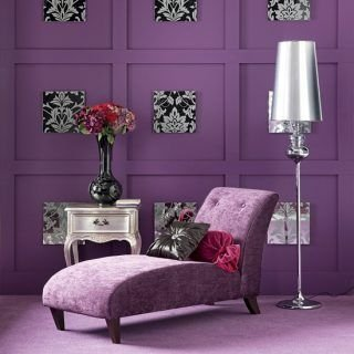 Modern Living Room Ideas With Purple Color Schemes17