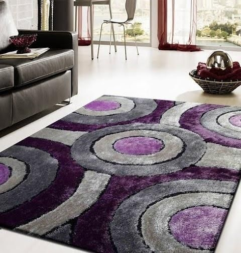 Modern Living Room Ideas With Purple Color Schemes20