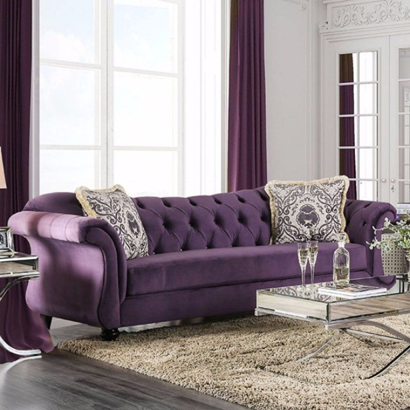 Modern Living Room Ideas With Purple Color Schemes29