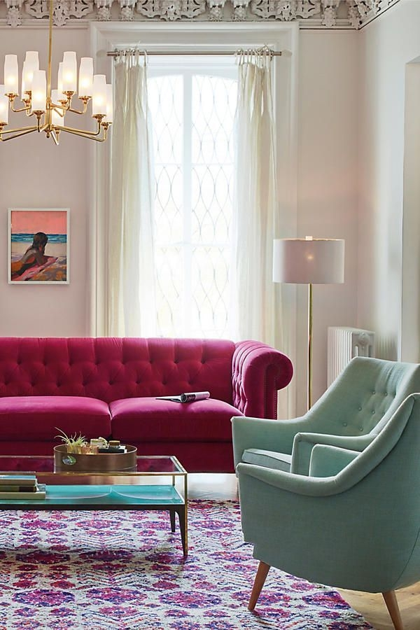 Modern Living Room Ideas With Purple Color Schemes42
