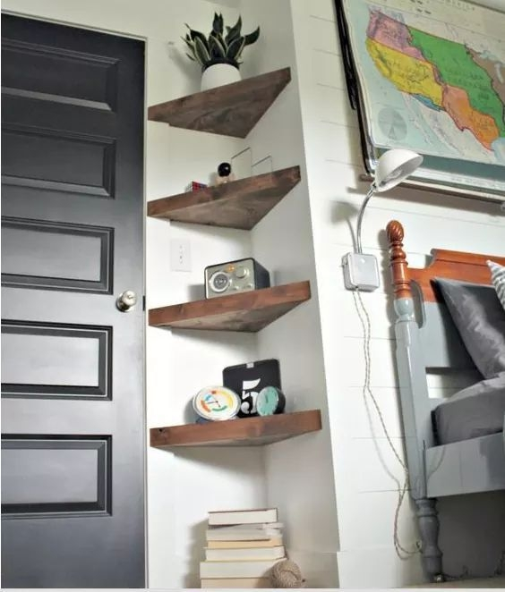 Newest Corner Shelves Design Ideas For Home Decor Looks Beautiful03