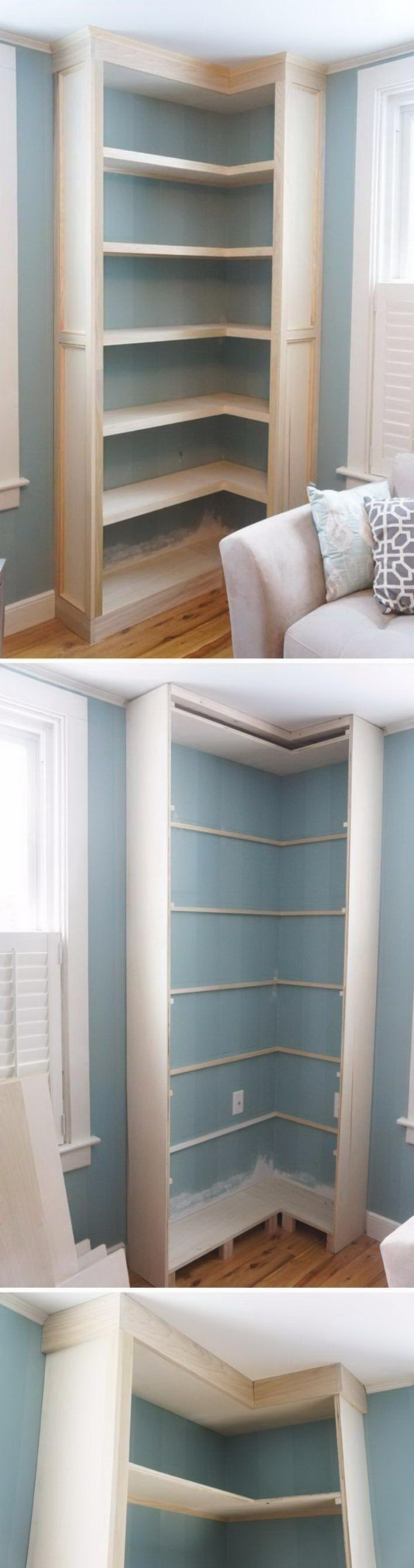 Newest Corner Shelves Design Ideas For Home Decor Looks Beautiful09