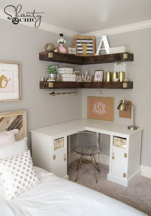 Newest Corner Shelves Design Ideas For Home Decor Looks Beautiful35