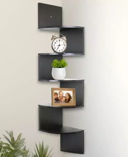 Newest Corner Shelves Design Ideas For Home Decor Looks Beautiful40