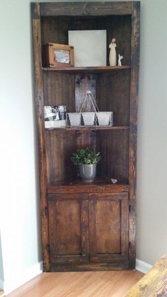 Newest Corner Shelves Design Ideas For Home Decor Looks Beautiful43