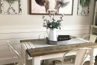 Outstanding Farmhouse Dining Room Design Ideas To Try37