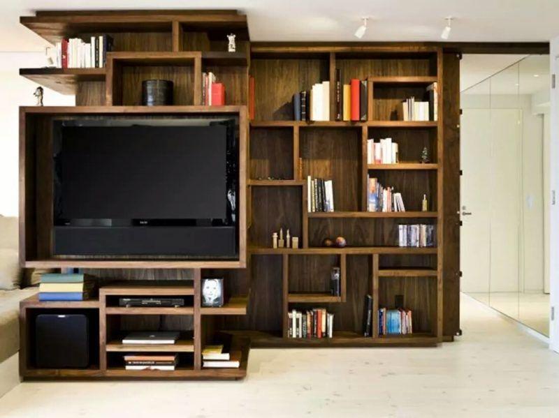 Trendy Bookshelf Designs Ideas Are Popular This Year04