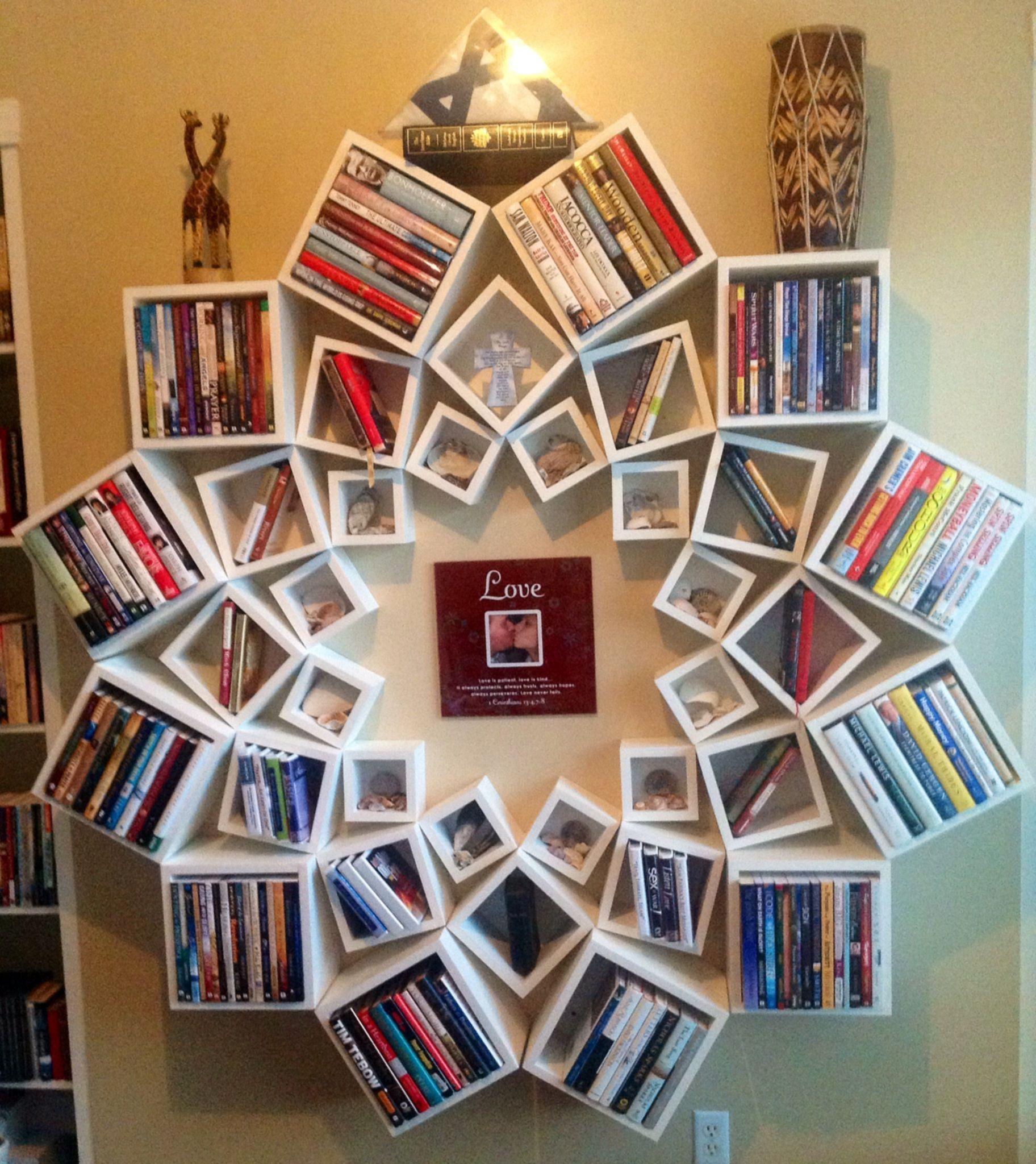 Trendy Bookshelf Designs Ideas Are Popular This Year15