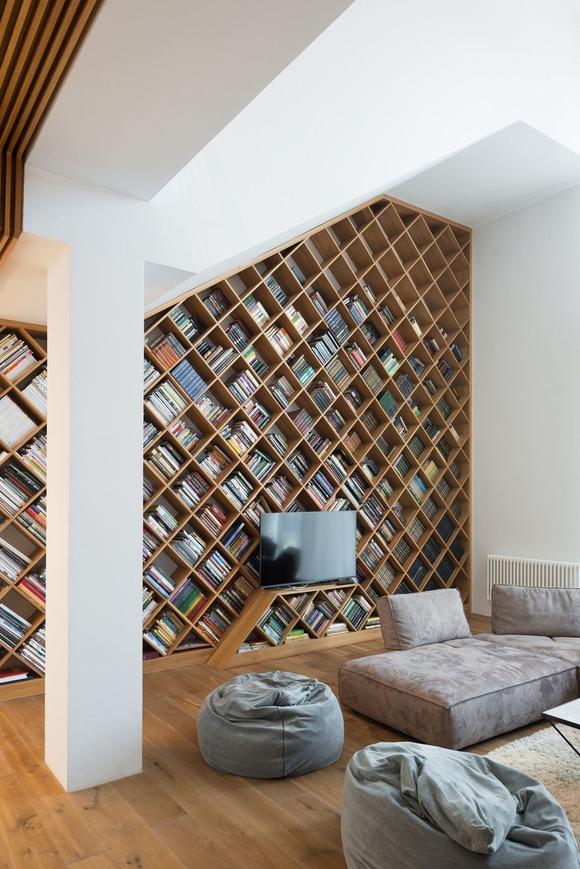 Trendy Bookshelf Designs Ideas Are Popular This Year18