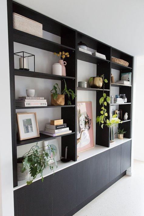 Trendy Bookshelf Designs Ideas Are Popular This Year21