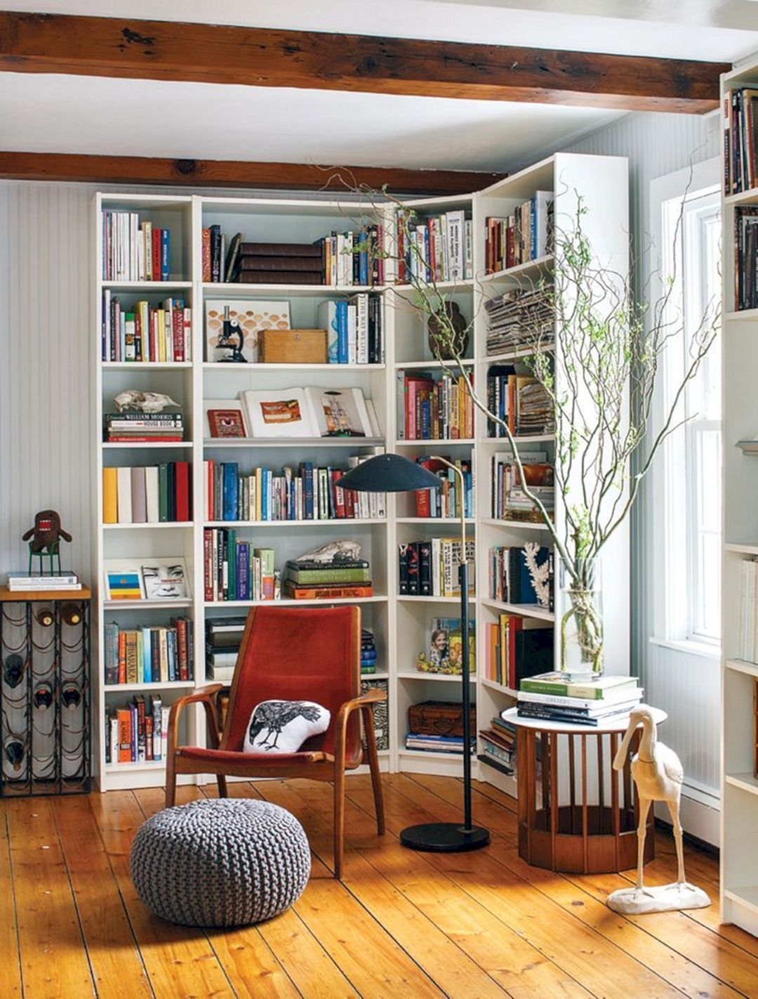 Trendy Bookshelf Designs Ideas Are Popular This Year31