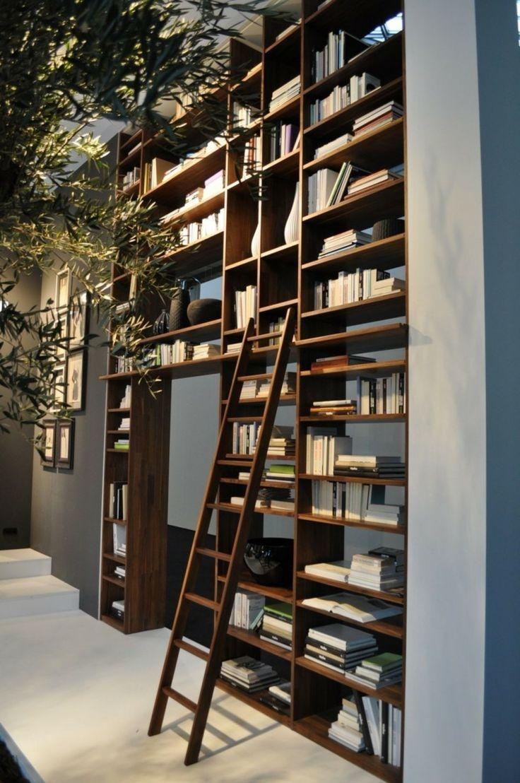 Trendy Bookshelf Designs Ideas Are Popular This Year34