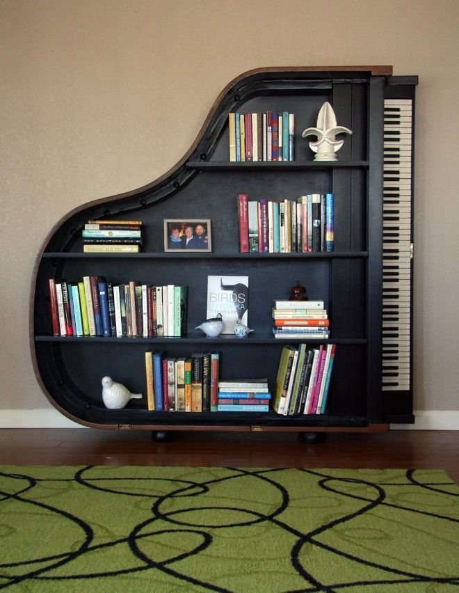 Trendy Bookshelf Designs Ideas Are Popular This Year35