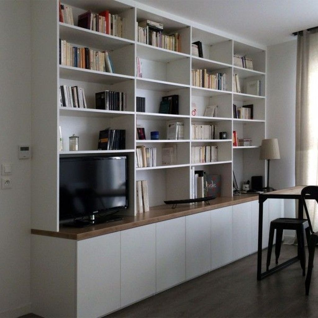 Trendy Bookshelf Designs Ideas Are Popular This Year37