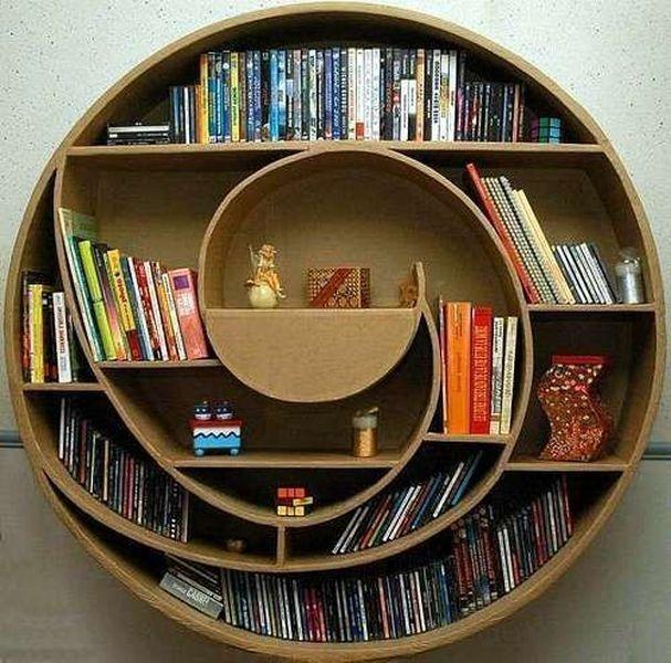 Trendy Bookshelf Designs Ideas Are Popular This Year40