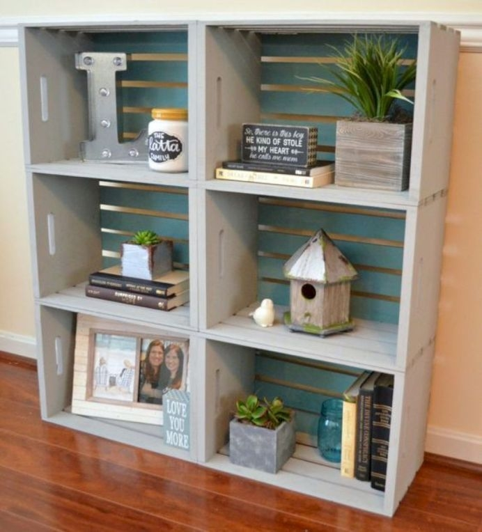 Trendy Bookshelf Designs Ideas Are Popular This Year41