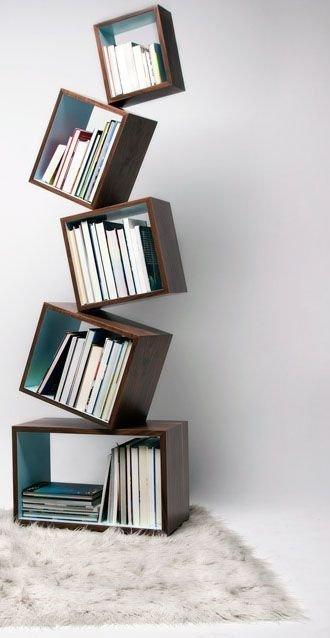 Trendy Bookshelf Designs Ideas Are Popular This Year43